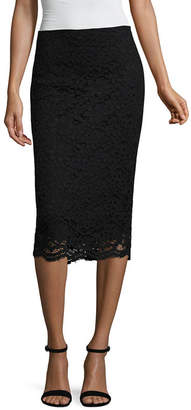 WORTHINGTON Worthington Womens Midi Pencil Skirt