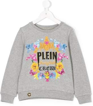 Philipp Plein Junior embellished Plein Girls sweatshirt