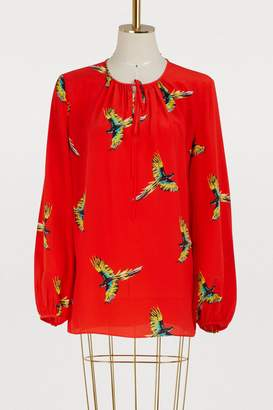 Diane von Furstenberg Long sleeved blouse