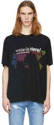 Alexander Wang Black Your Ad Can Go Here T-Shirt