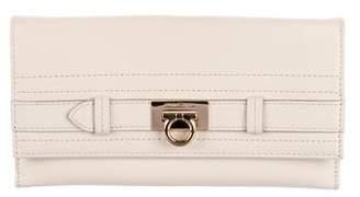 Salvatore Ferragamo Leather Gancino Wallet