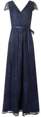 Dorothy Perkins Womens **Showcase Navy Lace 'Isla' Maxi Dress