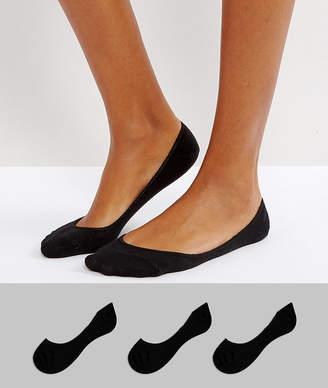 Asos Design DESIGN 3 pack pop socks