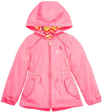 London Fog Toddler & Little Girls Hooded Flamingo Jacket