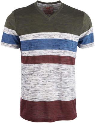 American Rag Men's V-Neck Striped T-Shirt, Created for Macy's