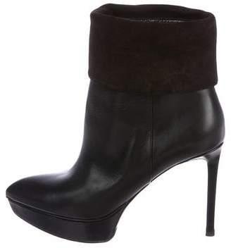 Saint Laurent Janis Platform Ankle Boots