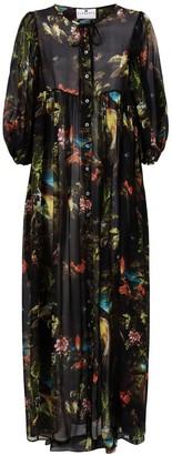 Klements Olympia Dress Volcano Print