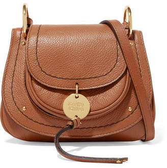 See by Chloe Susie Mini Textured-leather Shoulder Bag - Tan