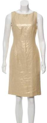 Ralph Lauren Silk-Linen Sleeveless Dress w/ Tags