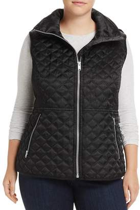 Andrew Marc Plus Caitlin Quilted Vest