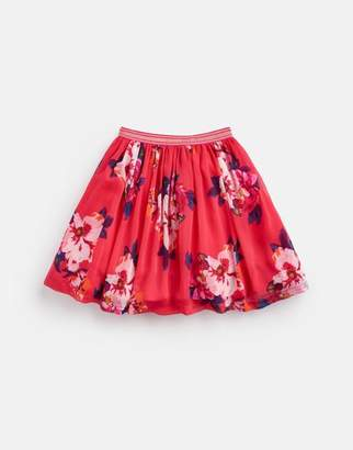 Joules Cala Chiffon Woven Skirt 3-12yr