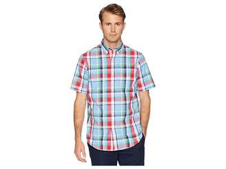 Chaps Short Sleeve Easy Care Woven Shirt Men's Clothing