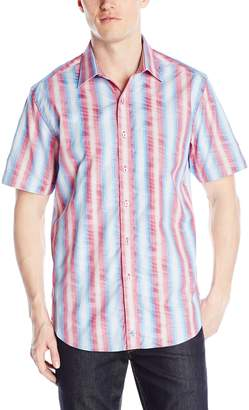Robert Graham Men's Watten Short Sleeve Woven Shirt