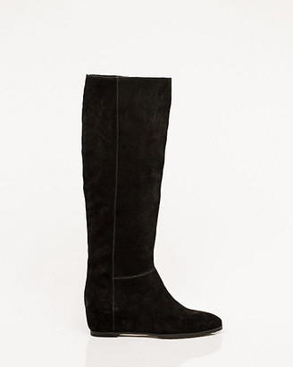 Le Château Suede Concealed Wedge Boot