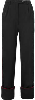 Stine Goya Ivy Cady Straight-leg Pants - Black