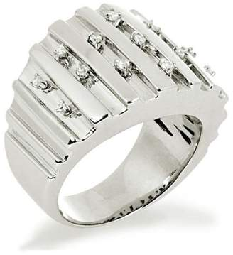 Alvina Alivna Sterling Silver 926 Cubic Zirconia Ring