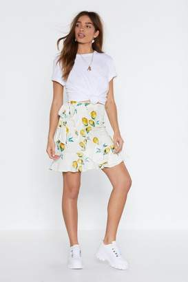 Nasty Gal When Life Gives You Lemons Off-the-Shoulder Top