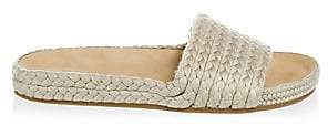 Soludos Women's Braided Pool Slides Sandals