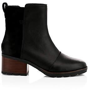 Sorel Women's Cate Waterproof Leather Booties