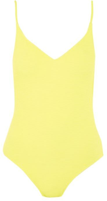 Topshop Topshop Shirred swimsuit
