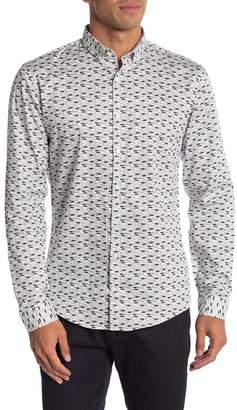 Lindbergh Long Sleeve Printed Regular Fit Shirt