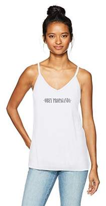 Obey Women's New Times Graphic Tank