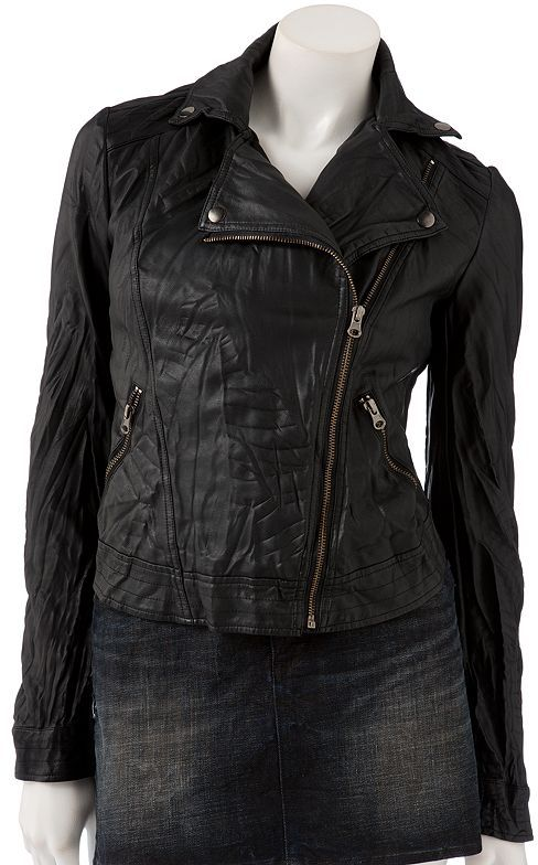 Rock & Republic Rock and republic faux-leather motorcycle jacket