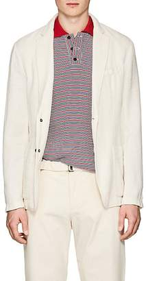 Barena Venezia Men's Malbec Knit Cotton-Blend Three-Button Sportcoat