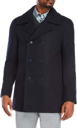 Calvin Klein Maurizio Double-Breasted Peacoat