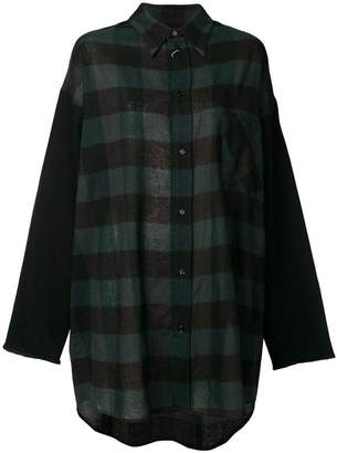 MM6 MAISON MARGIELA long-sleeve check shirt