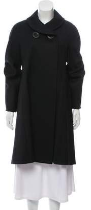 Cinzia Rocca Knee-Length Wool Coat