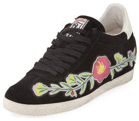 Ash Gull Suede Floral Sneakers