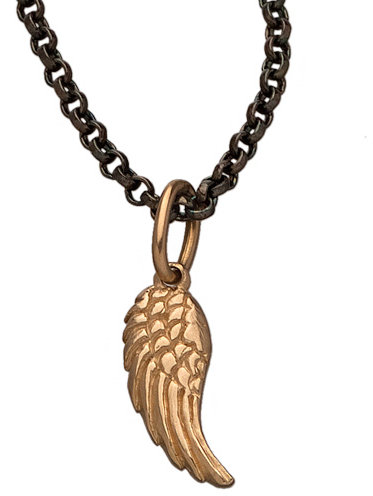 Erica Molinari Little Gold Wing Pendant Necklace