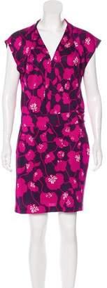 Diane von Furstenberg Sleeveless Wrap Dress