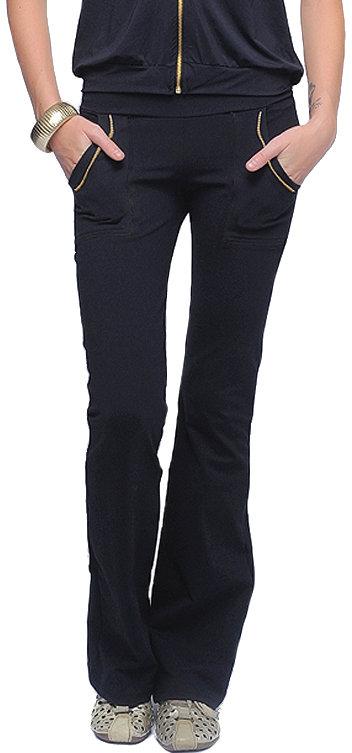 Bluefish Activewear Gold Zip Pants #19656