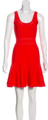 Diane von Furstenberg Bandage Flare Dress