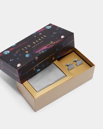 Ted Baker LADDZ Cufflink and cardholder set