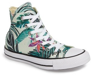 Women's Converse Chuck Taylor All Star Print High Top Sneaker $59.95 thestylecure.com