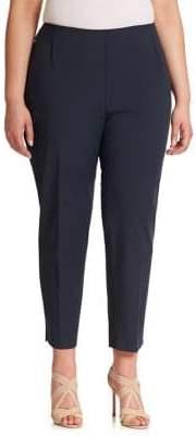 Lafayette 148 New York Lafayette 148 New York, Plus Size Plus Bi-Stretch High-Waist Pants