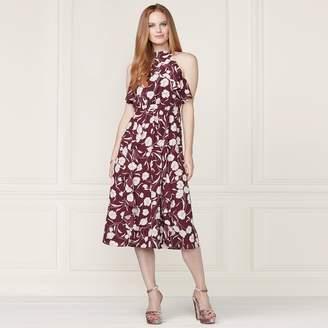 Lauren Conrad Runway Collection Ruffle Midi Dress - Women's