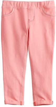 Girls 4-12 Jumping Beans Solid French Terry Ankle Pants