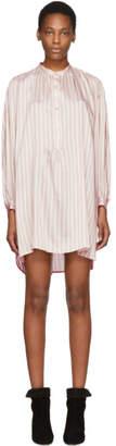 Isabel Marant Pink Striped Idoa Dress