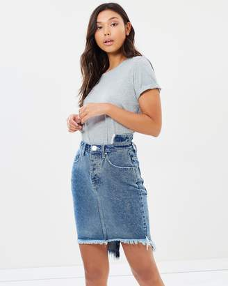 One Teaspoon 2020 High Waist Denim Skirt