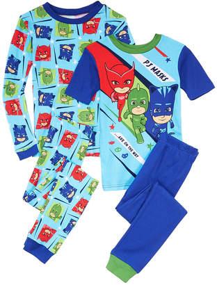 Pj Masks Big Boys 4-Pc. Pj Masks Cotton Pajamas Set