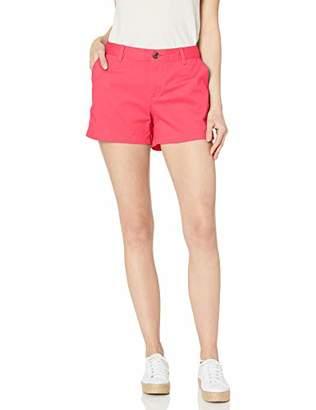 "Amazon Essentials Women's 3.5"" Inseam Patterned Chino Short"
