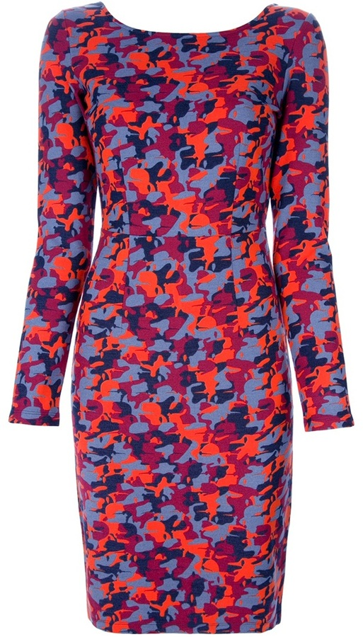 Karl Lagerfeld camouflage dress