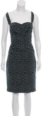 Zac Posen Bustier Knee-Length Dress