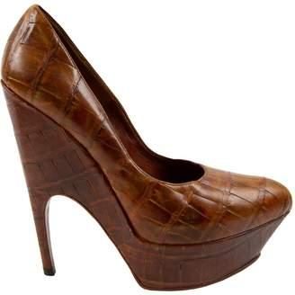 Saint Laurent Crocodile heels
