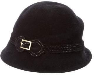 Eric Javits Wide-Brim Fur Hat w/ Tags