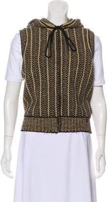 Chanel Knitted Hooded Vest